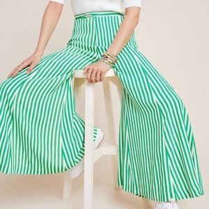 Anthro High Waisted Pallazo Pants